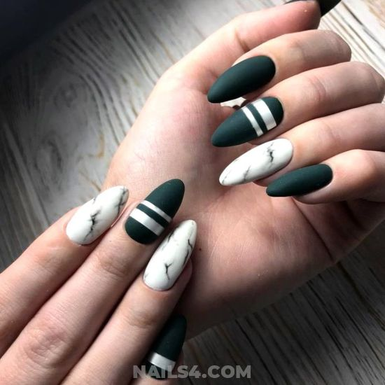 Simple And Cute Gel Nail Ideas - star, trendy, cute, nails, naildesign
