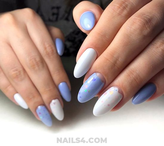 Simple And Enchanting American Manicure Design Ideas - top, design, hilarious, nailart