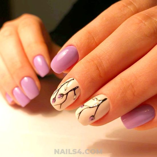 Simple & Attractive Acrylic Nail Art Design - smart, gorgeous, design, nails