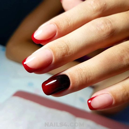 Simple & Awesome Gel Manicure Art - nice, nailidea, nail, elegant