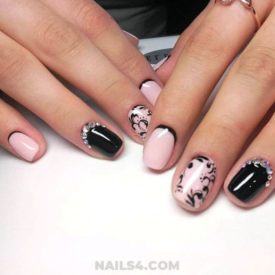 Simple & Cool Acrylic Nails Style - nails, nailartideas, teen, ravishing