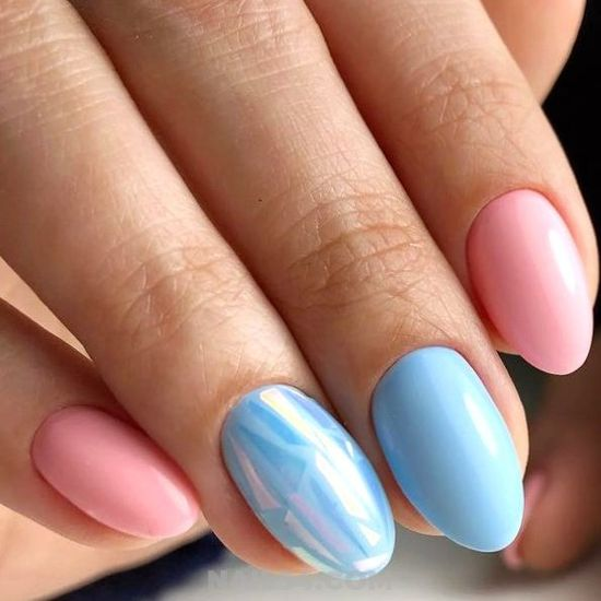 Simple & Enchanting Gel Manicure Style - best, amusing, nail, nailideas