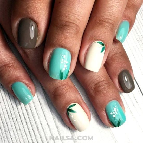 Simple & Girly Gel Nail Style - party, nailart, nailideas, furnished