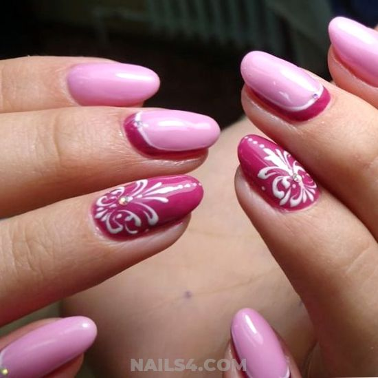 Stately And Beautiful Acrylic Nails - cutie, lovely, vacation, nails