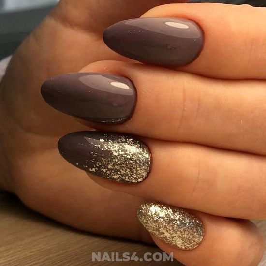 Stately And Beautiful Gel Nail Design - neat, manicure, nail, diynailart