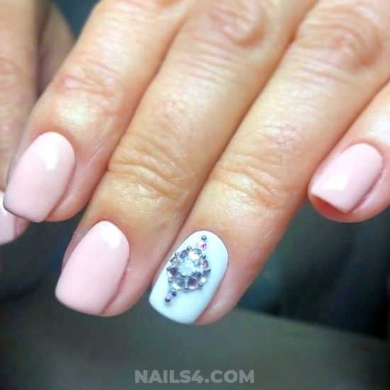 Stately And Ceremonial Acrylic Nail Art Design - diy, neat, nailstyle, nail, gel