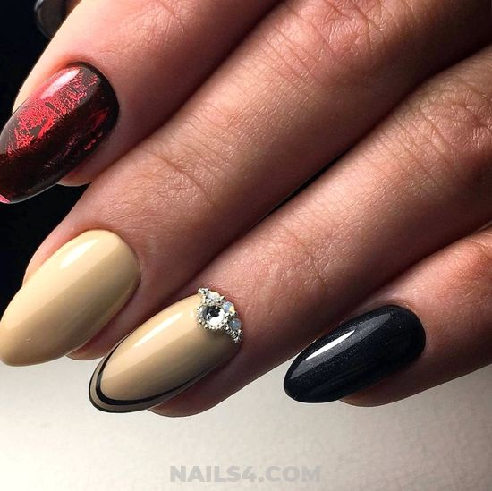 Stately And Charming French Gel Nails Design Ideas - lovely, dreamy, nails