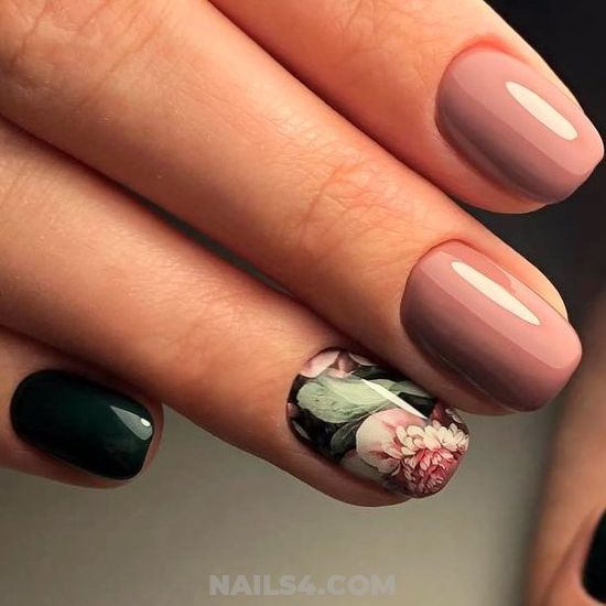 Stately And Cool French Nails Design - nail, idea, love, creative