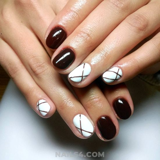 Stately And Fashion Acrylic Nail - top, nailidea, nail, inspirationidea