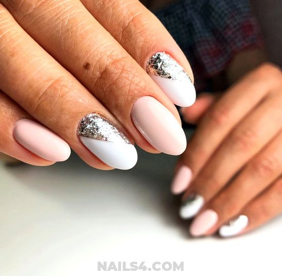 Stately Attractive Acrylic Nail Ideas - gorgeous, design, trendy