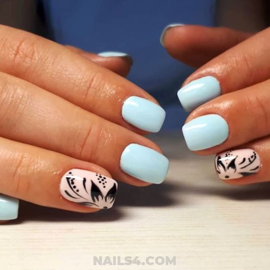 Stately & Casual Acrylic Manicure Idea - getnails, idea, nailtech, nail, cutie