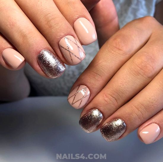 Stately Creative French Acrylic Nails Style - beauty, super, glamour