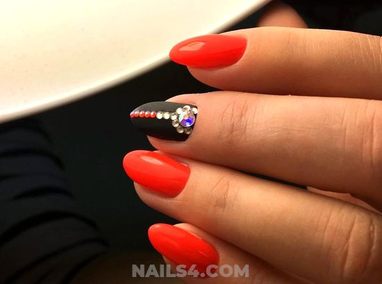 Stately Cute Acrylic Nail Style - nail, beauty, gorgeous, selfnail, diy