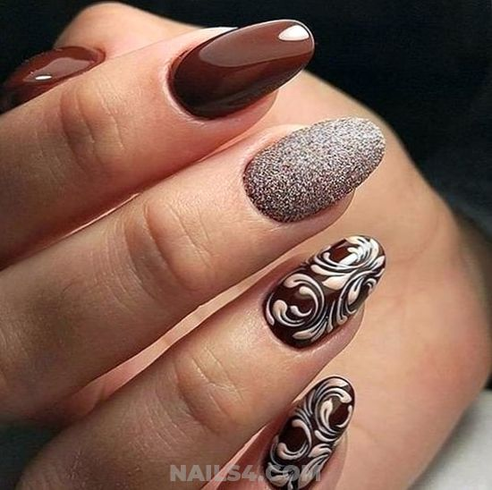 Stately & Cute Acrylic Nails Idea - sweetie, handsome, diy, style, nails
