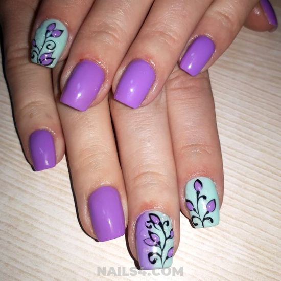 Stately & Dreamy Gel Nails Design Ideas - getnails, dainty, art, nails, sexy