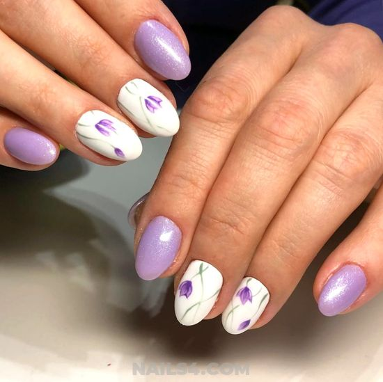 Stately & Elegant Gel Nail Art Ideas - manicure, nails, perfect
