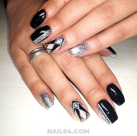 Stately Girly French - elegant, nailstyle, nails, weekend