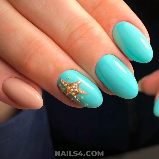 Super And Classy Gel Manicure Design - getnails, enchanting, naildiy, nails