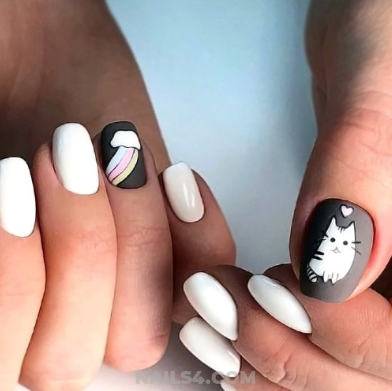 Super & Balanced Gel Manicure Idea - nails, naildesigns, best, idea, sexy