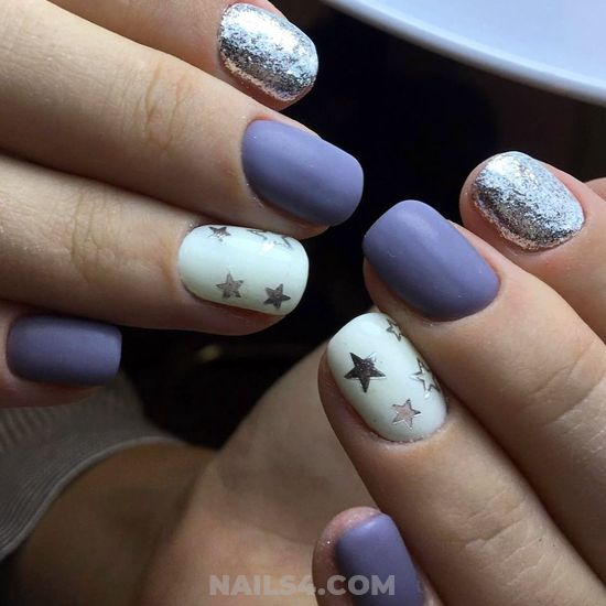 Super & Classic American Gel Nail Art - dreamy, nail, attractive, loveable