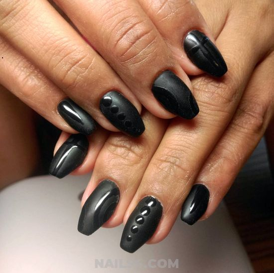 Super & Cute American Nails Ideas - neat, best, furnished, nails