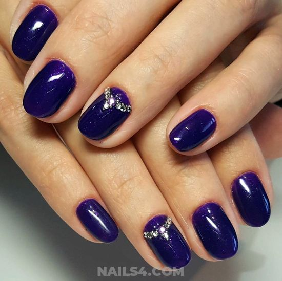 Super & Dreamy Gel Nails Ideas - cool, nail, naildesigns, nice, party