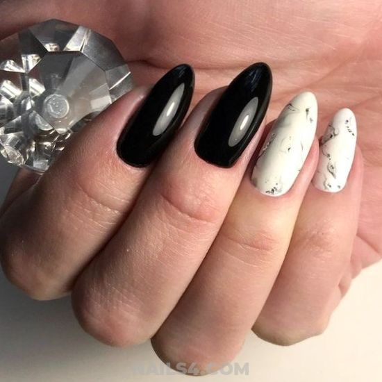 Super & Fresh French Acrylic Nail Design Ideas - nailstyle, nails, lovely, dreamy