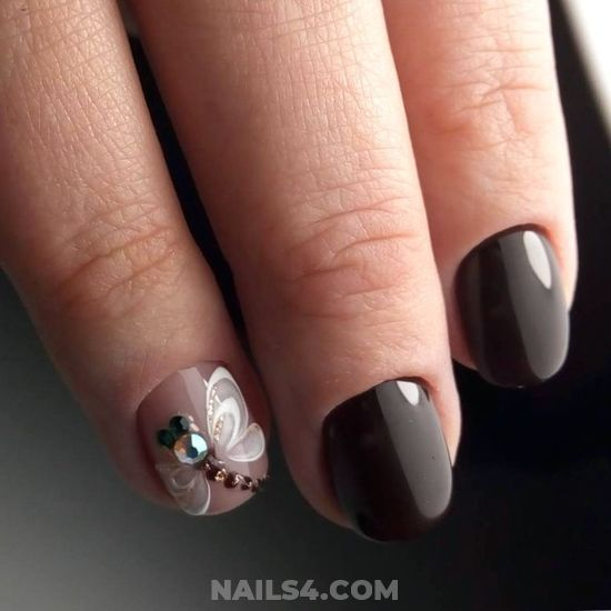 Top And Dream Gel Manicure Style - shiny, diy, diynailart, nails, magic