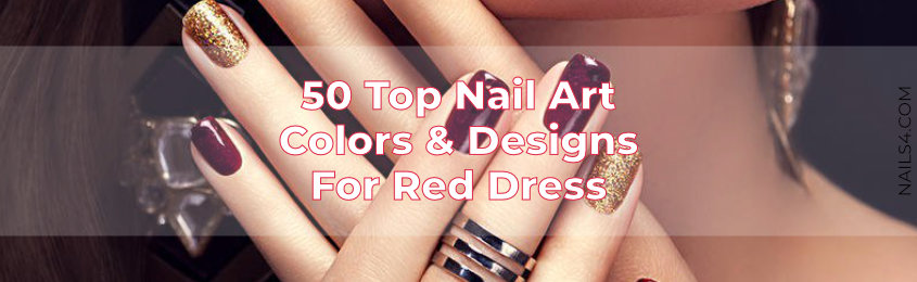 Top-Nail-Art-Colors-And-Nail-Designs-For-Red-Dress