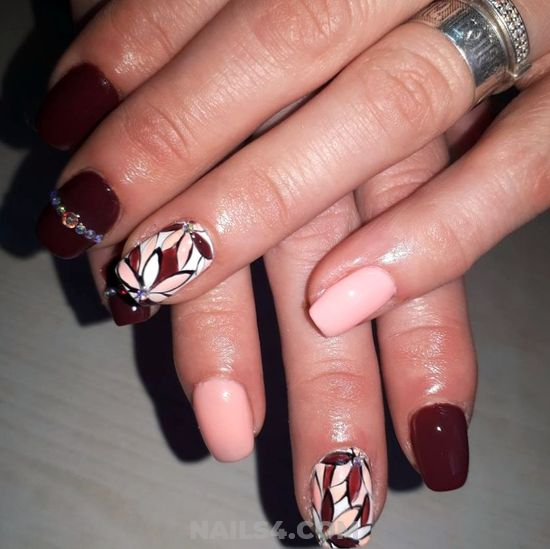 Trendy And Cool Acrylic Nail Idea - smart, nails, nailidea, gel