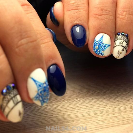 Trendy And Fashionable Manicure - elegant, awesome, nails, super