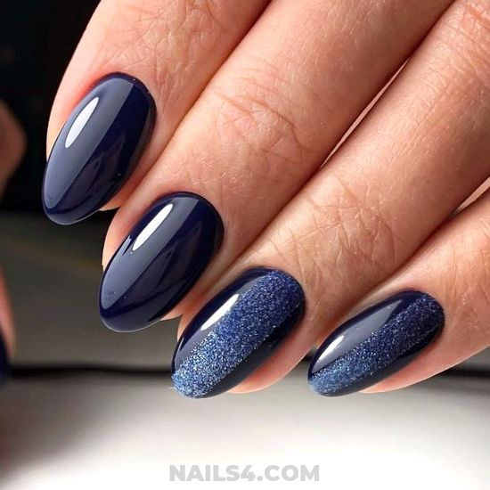 Trendy Balanced Gel Manicure Design - gettingnails, ideas, nailswag, nails