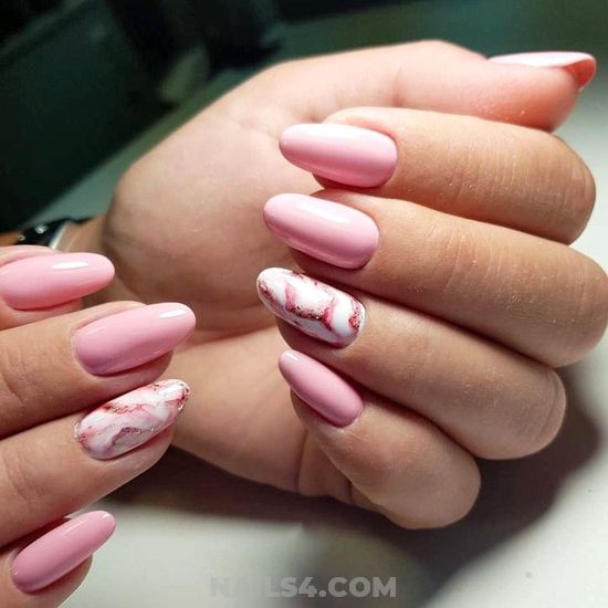 Trendy & Fresh Nails Design Ideas - dainty, nailideas, nails