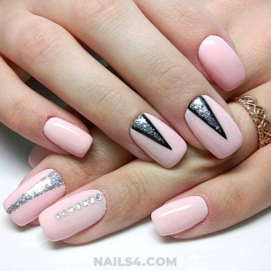 Unique Delightful Manicure Art Ideas - clever, pretty, party