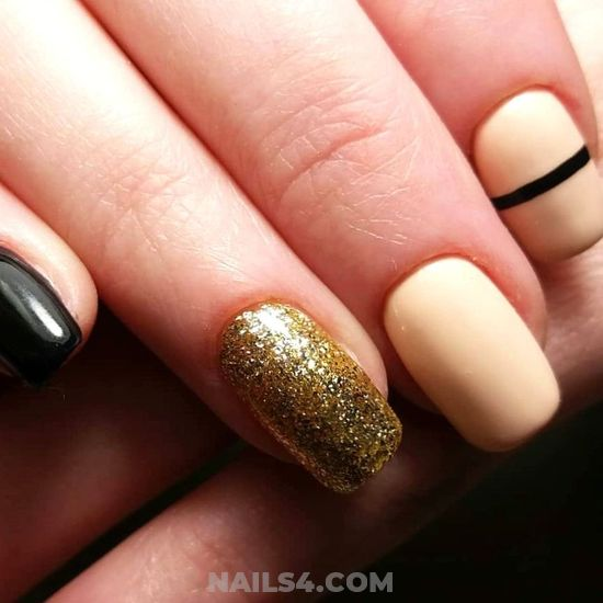 Unique & Fashionable Nail Idea - nails, nice, goingout, furnished
