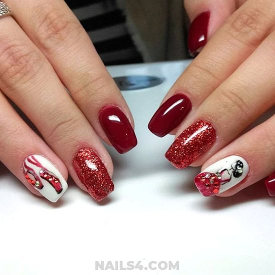Wonderful And Awesome Acrylic Manicure Trend - wonderful, star, nailidea