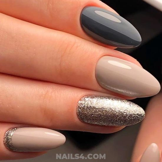 Wonderful And Ceremonial American Gel Nails Ideas - beautytutorial, beautiful