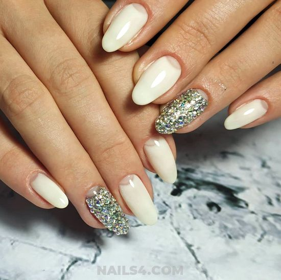 Wonderful And Colorful American Nails Idea - naildesign, nails, simple, creative