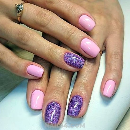 Wonderful And Creative French Nails Design Ideas - nailidea, nail, love, best, getnails