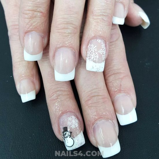 Wonderful & Dream American Gel Nail Art Ideas - gorgeous, smart, classic, nails