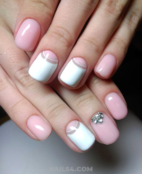 Wonderful & Girly American Acrylic Nail - nails, nailartdesign, love, style