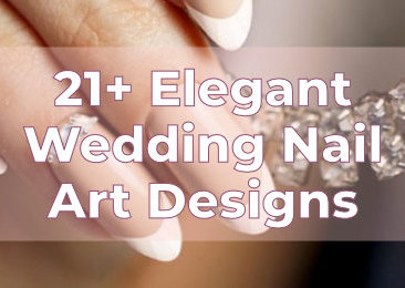 Elegant Wedding Nail Art Designs