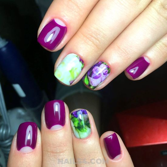 Attractive And Stately Nail Design - beautiful, diy, nailideas, nails