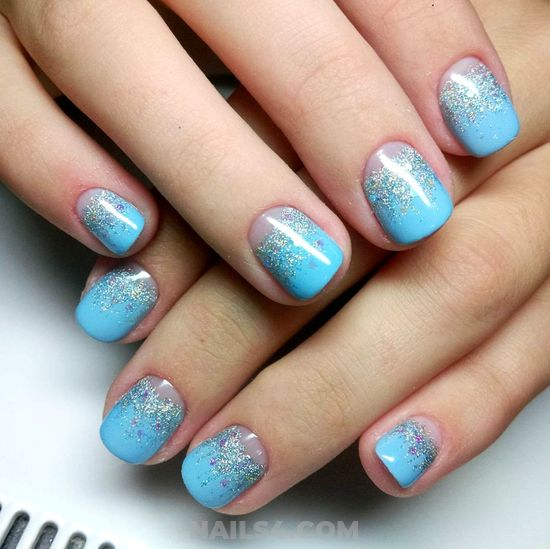 Beautiful & Lovely French Acrylic Nails Style - nice, style, nail, naildesigns