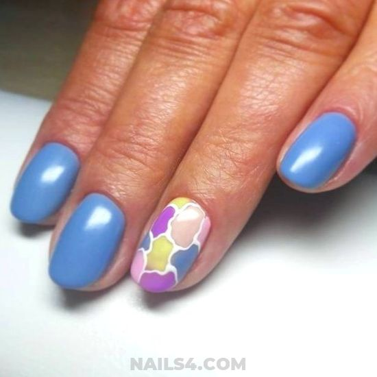 Ceremonial & Glamour Gel Manicure Design - best, artful, lovely