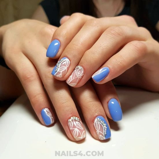 Classic And Lovely Acrylic Nails Art Design - hilarious, nice, nail, idea, cute