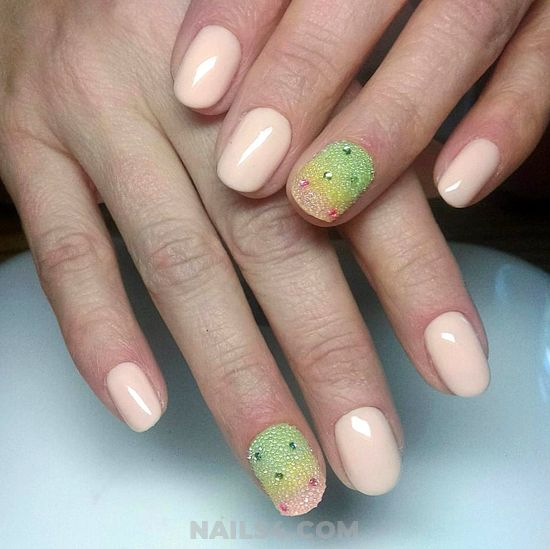 Classic & Graceful Acrylic Nail Idea - nailswag, cute, nails