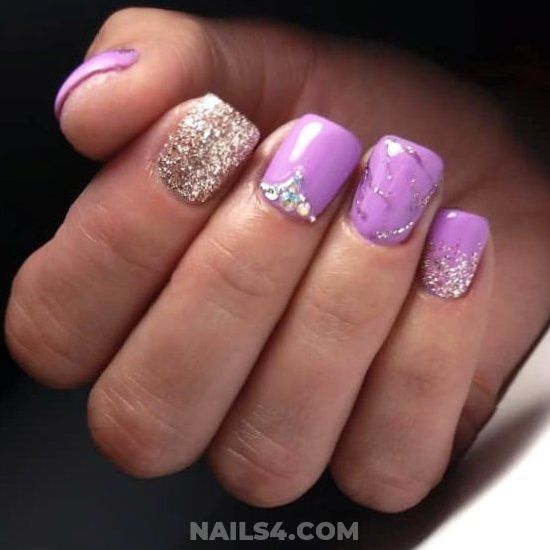 Classy & Lovable Acrylic Manicure Trend - teen, nailideas, nails, clever