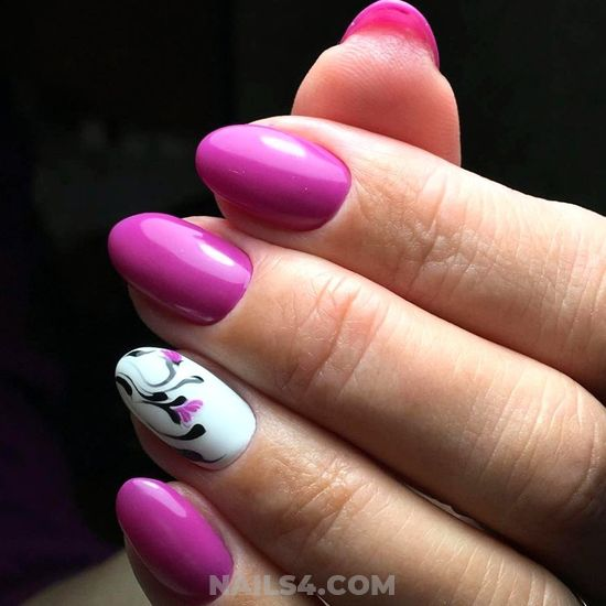 Creative And Super Acrylic Nails Trend - getnails, magic, naildesigns, nail