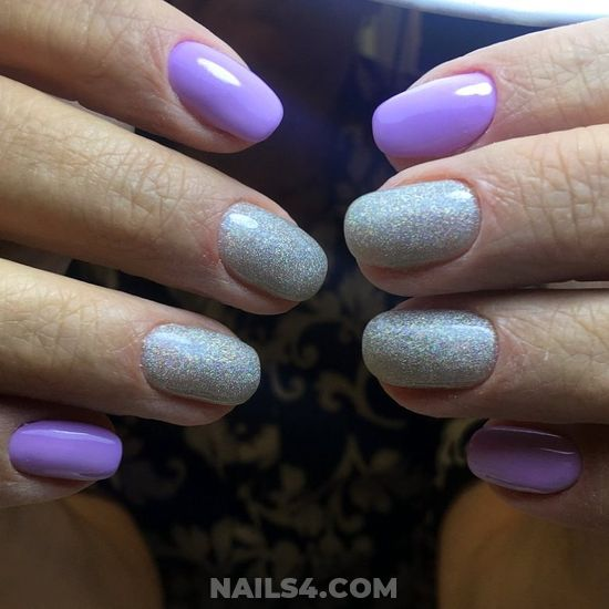 Cute & Glamour French Acrylic Nails Idea - nailidea, getnails, dreamy